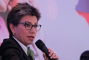 Claudia López, hoy candidata a la alcaldía de Bogotá, lideró la consulta anticorrupción.