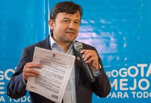 El secretario de Movilidad Juan Pablo Bocarejo