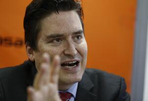 Santiago Castro, presidente de Asobancaria