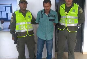El hombre fue capturado por la Policía tras cometer el hecho.