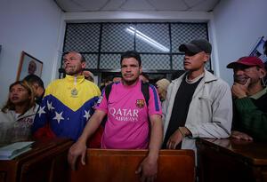 Tránsito de migrantes venezolanos