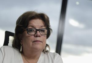 Gloria María Borrero, ministra de Justicia