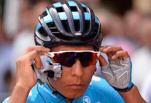 Nairo Quintana, ciclista del Team Movistar que se prepara para los Mundiales de ciclismo