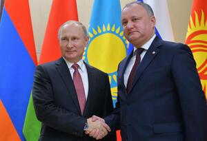Presidente de Moldavia, Ígor Dodon