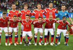 Selección Rusa en la Copa Mundo Rusia 2018