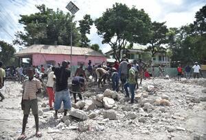 Terremoto sismo Haití