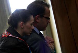 Catalina Serrano y Andrés Felipe Arias