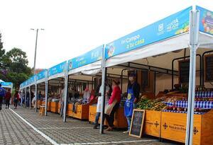 En la Plaza de Los Artesanos, carrera 60 # 63A -52, se llevará a cabo la Feria Agroalimentaria