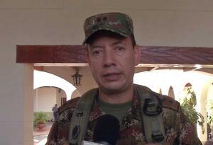 El general Luis Fernando Rojas.