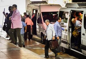 Integrantes de las Farc, en La Habana (Cuba), el 23 de julio de 2015