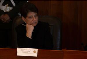 Magistrada Cristina Pardo.