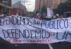 Protestas estudiantes