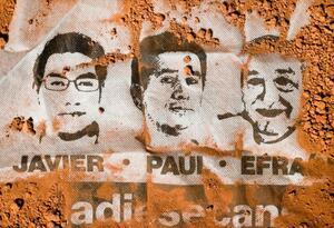 Periodistas ecuatorianos asesinados