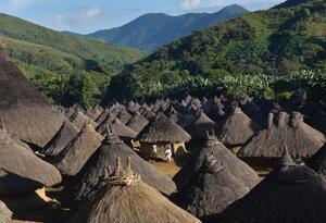 Asentamiento Kogui en la Sierra Nevada de Santa Marta