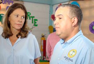 Marta Lucía Ramírez, vicepresidenta de Colombia en Cartagena