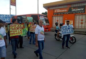 Protestas por falta de garantías y cierres de comercio
