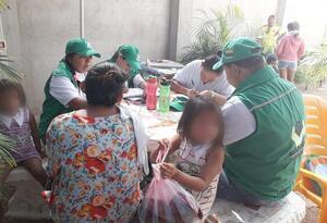 Menores atendidos por el ICBF en Uribia (La Guajira)
