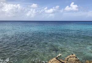 Mar en la isla de San Andres