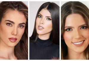 Son 26 mujeres que participan en el certamen de la belleza.