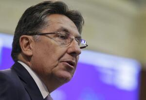 Fiscal Néstor Humberto Martínez en el Congreso