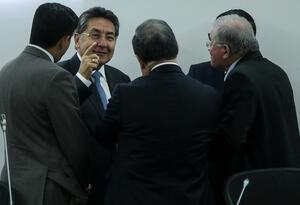 El fiscal Néstor Humberto Martínez en una conversación