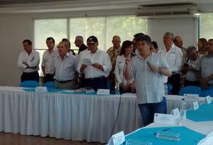 Consejo de Seguridad realizado en el Batallón Còrdova
