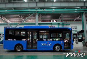 Se espera que los buses electrónico inicien operación en mayo del próximo año.