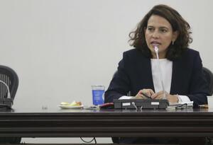 Nancy Patricia Gutiérrez ha tenido que sortear varias dificultades en el trámite de la agenda legislativa.