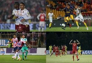 Semifinales de la Liga Aguila
