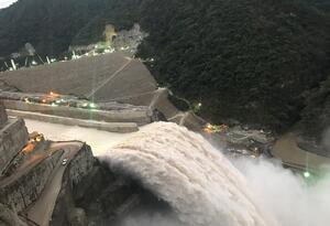 Entró en funcionamiento el vertedero de Hidroituango.