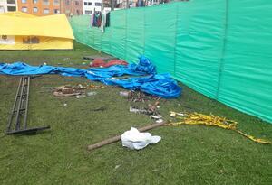 Campamento Venezolanos