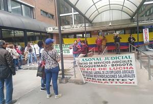 PROTESTA EN PALOQUEMAO