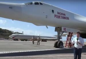 La prensa rusa hace difusión de los bombarderos rusos en Venezuela