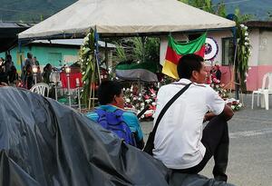 Miembros de comunidades indígenas