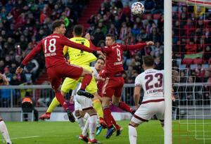 Bayern Munich goleó al Nüremberg