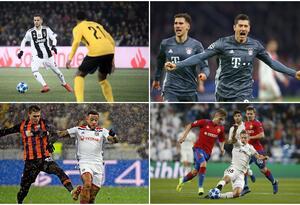Juventus, Bayern, Lyon y Real Madrid - Champions League 2018