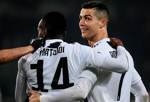Cristiano Ronaldo celebra el gol de la Juventus ante Torino en la Serie A