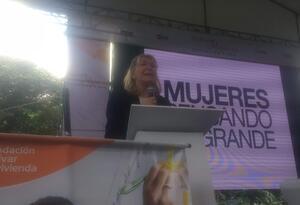 Fiscal general de Venezuela, Luisa Ortega, en Medellín