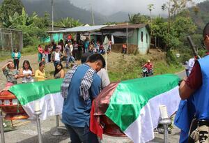 Sobre la carretera hacia Tumaco fueron ubicados los cuerpos de los lideres asesinados