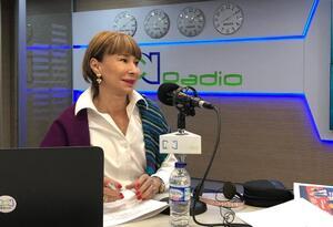 La ministra de Trabajo, Alicia Arango, en RCN Radio
