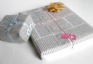 Piden no utilizar tanto papel regalo por la conservación del medio ambiente.