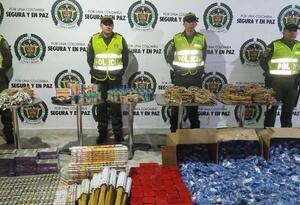 En diciembre se han incautado 236 kilogramos de pólvora en Ibagué y su área metropolitana.
