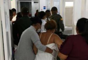 Heridos remitidos del municipio de Manatí por explosión de castillo de juegos pirotécnicos