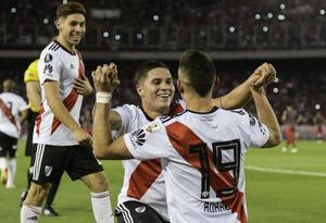 Colombianos en River Plate