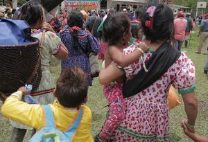 Retorno de indígenas Embera a sus territorios