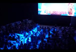 Sala de cine al aire libre