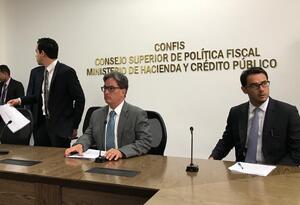 Ministro de Hacienda, Alberto Carrasquilla, tras la Ley de Financiamiento.