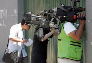 Periodistas prensa