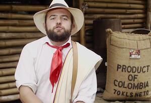 Santiago Rivas, presentador de Los Puros Criollos