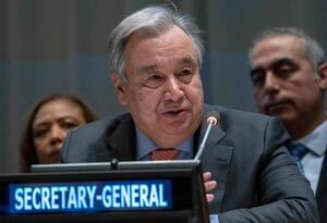 Antonio Guterrez, secretario de la ONU
